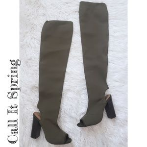 Call It Spring Knee High Boots